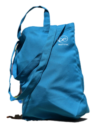Sac double anses Best Ethic couleur Turquoise